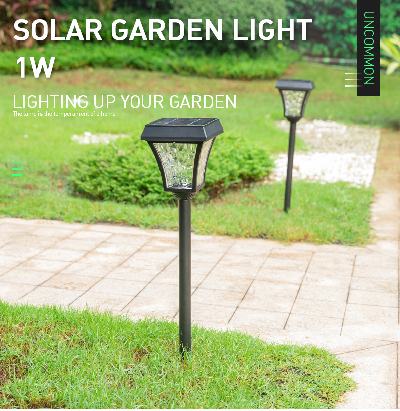 Wholesale Aluminum Outdoor Stake Solar Led Lawn Light