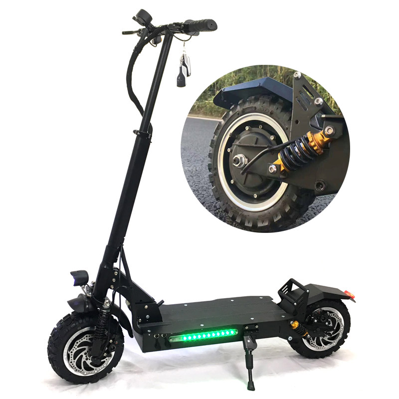 2018 new fat tire electric scooter for adults 60V 3200W electric kick scooter hot sale