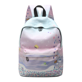 Backpack For Women Girls Satchel School Bags Cute School Backpack Cat Ear  Cartoon Women Bags 424daa36911