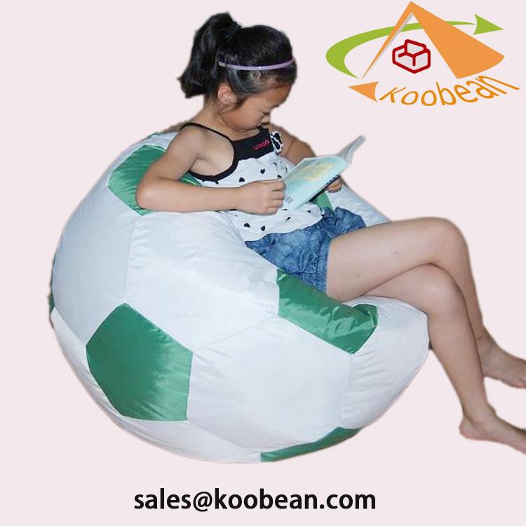 Comfy bola personalizado relaxar beanbag futebol bola de futebol padrão de  saco de feijão c03878a792548