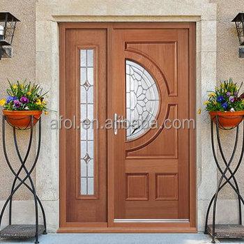 Zhejiang Afol Zd3102 New Style Solid Wooden Fancy Door