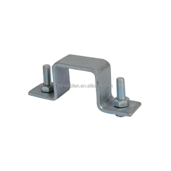 Factory Wholesales Safety Professional Cast Aluminum Pipe Clamp U Shaped  Square Tube Clamp Made In China - Buy Square Tube Clamp,Square Clamp,Pipe