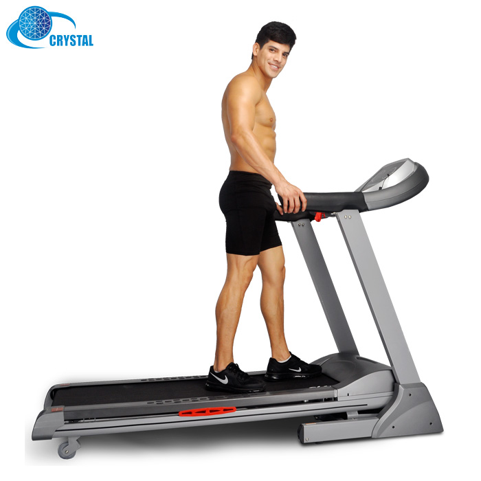 SJ-8100 Manufacturer price Gym Running Machine Healthcare Electric Treadmill wholesale in USA, Grey