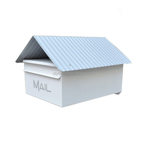 Cast Galvanized Us Style Mail Post Box/Mail Drop Box For Sale