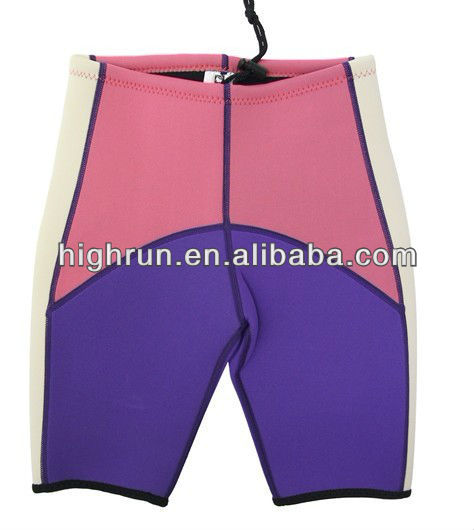 (New arrival)Kids Cute beautiful colour Neoprene wetsuit Shorts