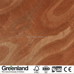 2017 Mahogany Crotch Veneer Furniture Interior Doors Artificial Veneer