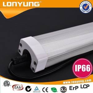 Twin Waterproof Fluorescent/LED Tube Light Fitting Non-Corrosive IP65