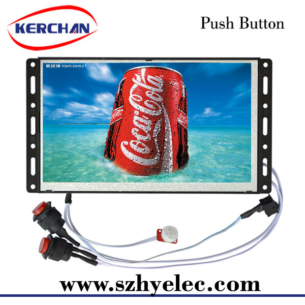 Open frame battery operated digital signage rss feeds