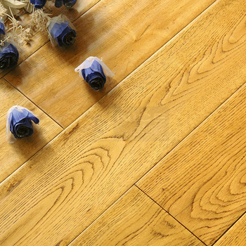 Eco Friend Solid Wood Flooring Oak Engineered Floor With Click Locking