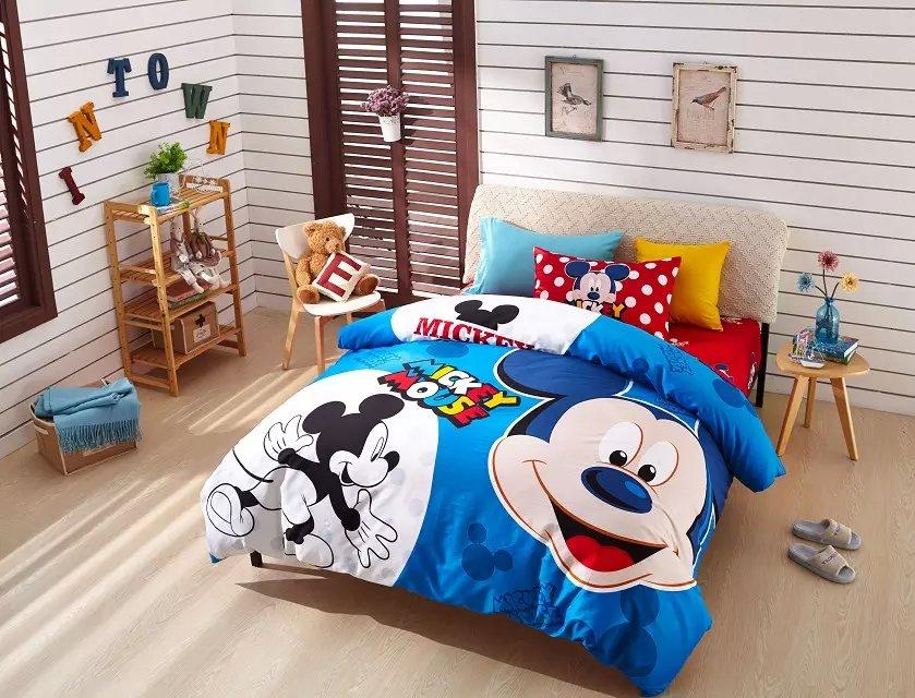Compra Mickey Mouse Colcha Online Al Por Mayor De China