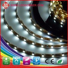 CE/ROHS approved bed led motion sensor led strip light 3528 60 SMD/M IP65 12V/24V DC 40W led strip for motorcycle