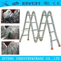 Ladder aluminium,Easy folding aluminium quick step ladder,safety multipurpose ladder