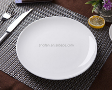 white round restaurant serving plate ceramic pie plate wholesale