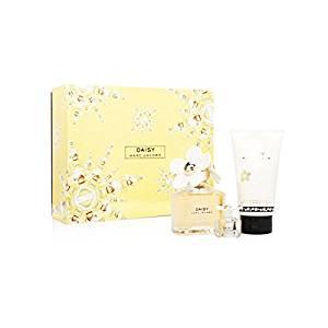Daisy by Marc Jacobs for Women 3 Piece Set Includes: 3.4 oz Eau de Toilette Spray + 5.1 oz Luminous Body Lotion + 0.13 oz Eau de Toilette