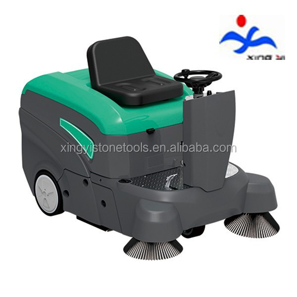 sweeping machine with 7200m2/h maximum working efficiency