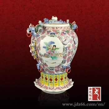 Hot Sale Antique Reproductions Porcelain Sevres Vase From Jingdezhen