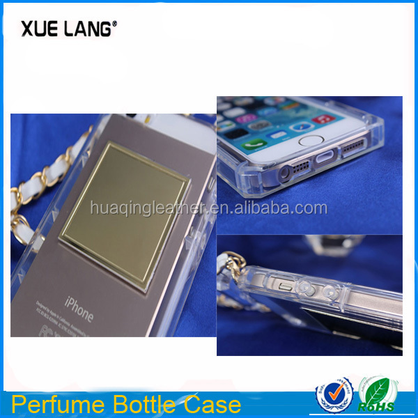 Perfume bottle case for iphone5s / Clear Perfume bottle case for iphone5s