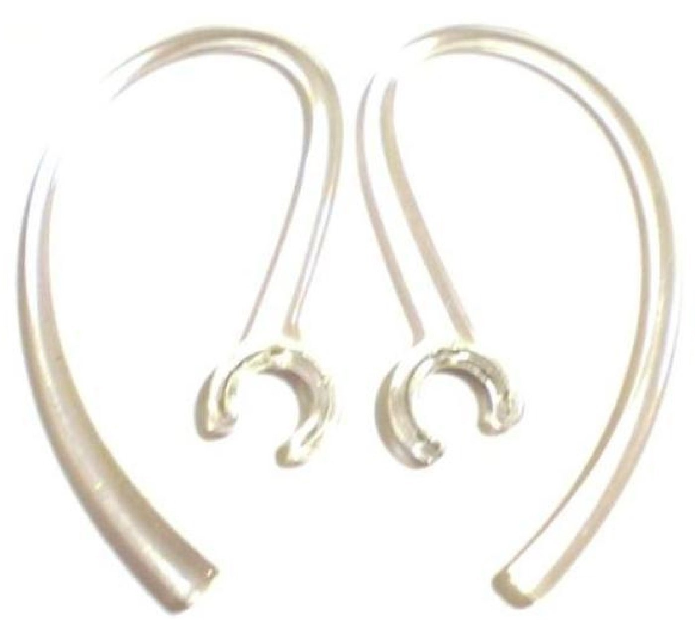 2Clear Good Quality Earhooks for Sony CECHYA-0076 and Rocketfish Sony PS3 MD Playstation 3 Play Station 3 Gaming Game Wireless Bluetooth Headset Ear Hook Loop Clip Earhook Hooks Loops Clips Earloop Earclip Earloops Earclips Replacement Part Parts
