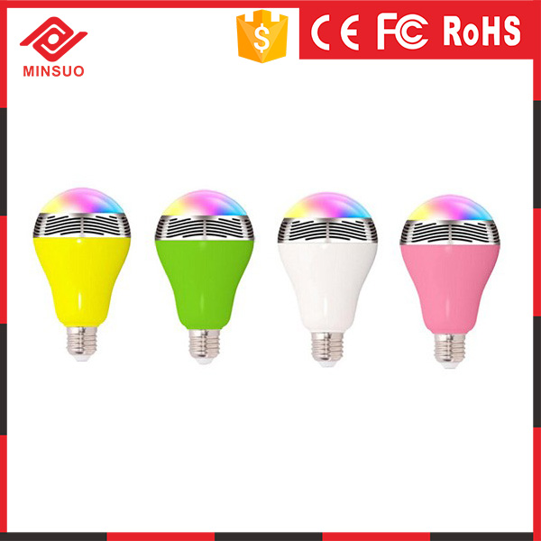 S-002 Bluetooth LED Bulb For Intelligent Home System, Color Changing Smart LED Bulb, Enabling Phone Control