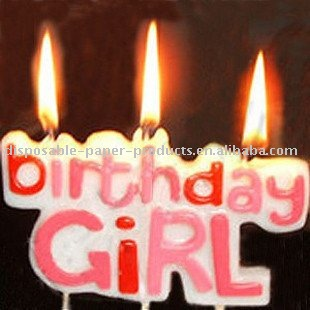Personalized Birthday Candles For Girls