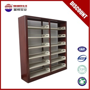 Steel bookcase for school library