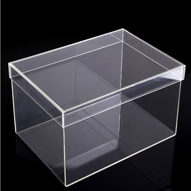 High Quality Clear Acrylic Shoes Display Box