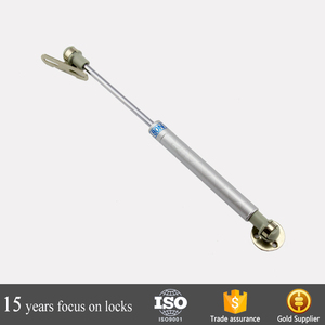 hydraulic Gas Support Kitchen adjustable Cabinet door spring brass cover down open damper hardware