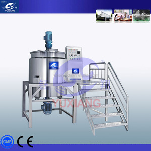 Liquid detergent production equipment agitator mixer tank homogeneous blending equipment made in China