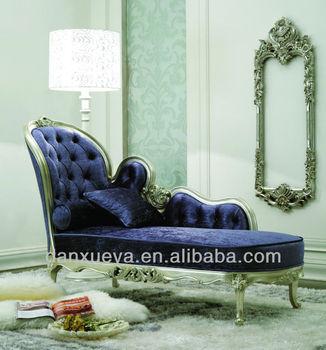 Danxueya blue velvet chaise lounge royal chaise lounge foam chaise lounge buy blue velvet - Blue velvet chaise lounge ...