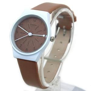 Fashion ladies leisure watches selling models quartz stock women's leather clock