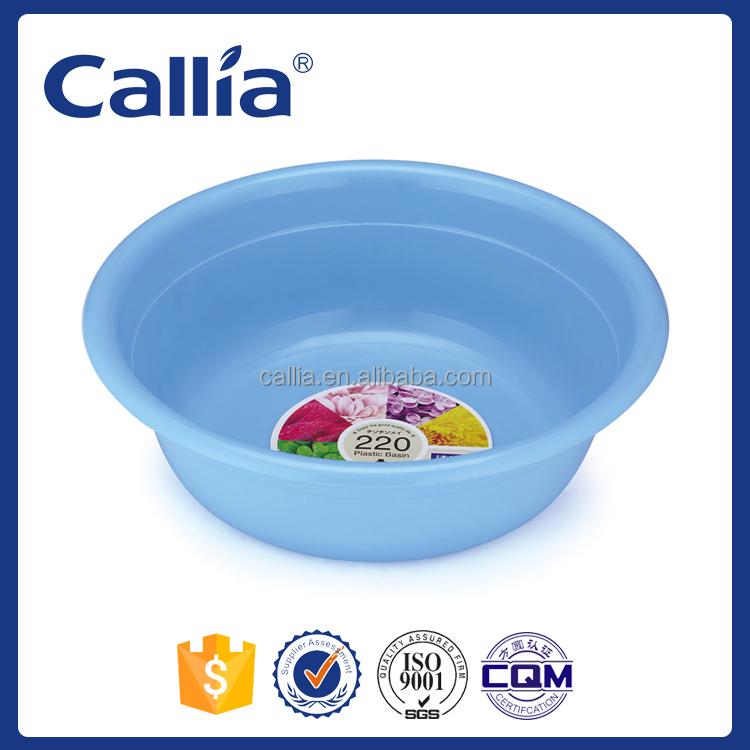 B b bleu pp cheveux pied cuve de lavage pais en plastique laver bassin lavabo id de produit - Bassin d eau plastique avignon ...