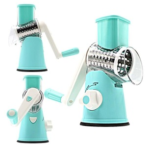 Manual Rotary Cheese Grater With Round Tumbling Box