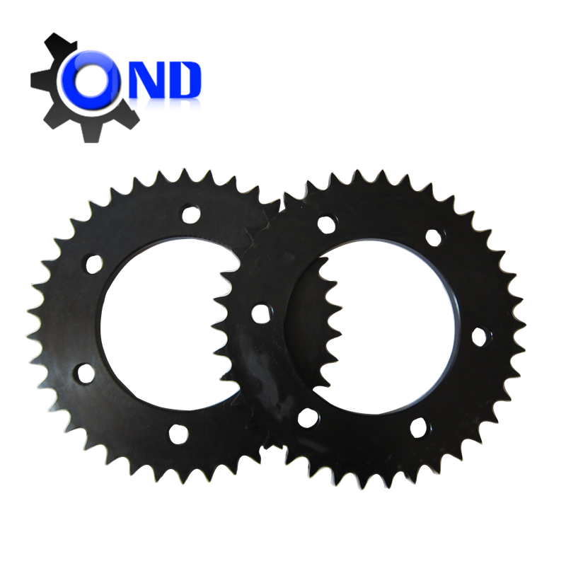 ANSI 60 large inner hole sprockets with black oxide