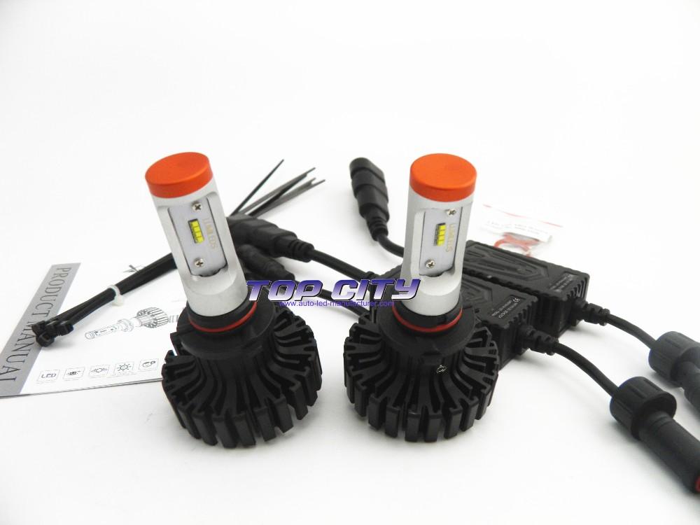 9005 9006 H10 HB3 HB4 80W Auto LED Headlight Car Parts Light