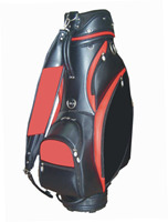 wholesale high quality custom handmade PU leather ladies pink golf bags