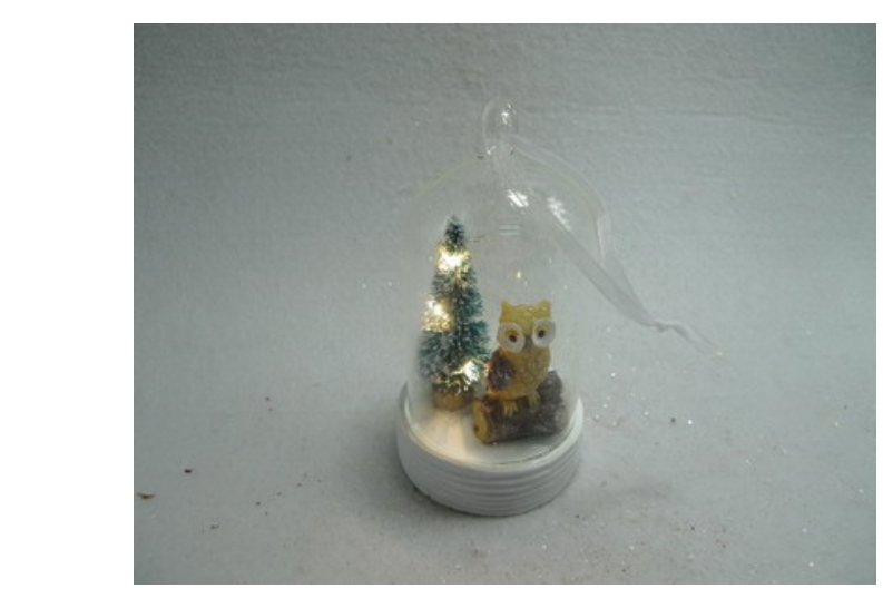 Low Price Hand Blown Led Glass Ball Ornament