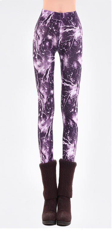 Free shipping 2014 Hot sale Fashion Print Lightning Galaxy ...