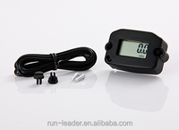 Run Leader Tach Hour Meter Gauge Motorcycle ATV Tachometer Engine NEW