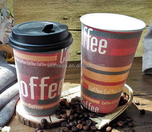 disposable foaming coffee cups logo printed espresso coffee paper cup
