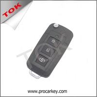 TOYOTA YARIS TO OPEL TYPE AUTO TRANSPONDER REMOTE CAR FLIP KEY SHELL