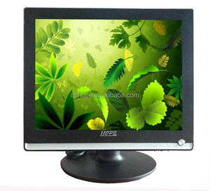 "Top Quality OEM 15"" LCD computer monitor 4:3 LCD monitor with VGA/USB/TV interface CE ROHS FCC 1518"