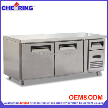 332L Double Door Work Bench Table Or Called Stainless Steel Work Table With  Wheels In China