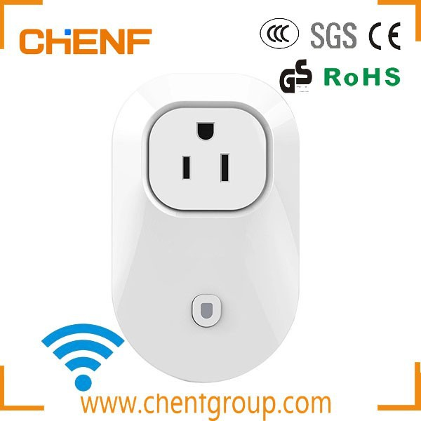 Newest Design Cheaper US Plug Wifi Power Socket Outlet