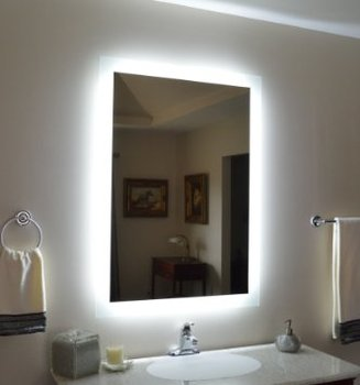 Led Bathroom Mirror Bath Mirrors With Light