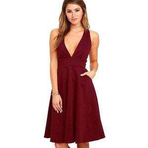 11d14010437 Red Line Dress