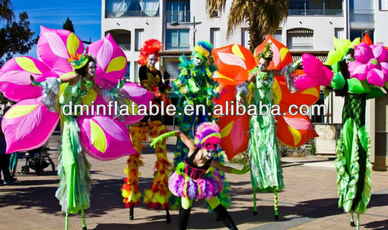 2013 New brand inflatable flower costumes
