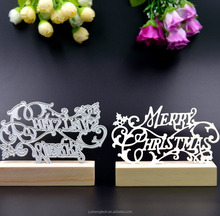 Christmas Logo Cutting Dies for Paper Scrapbooking DIY Craft Cutting Dies