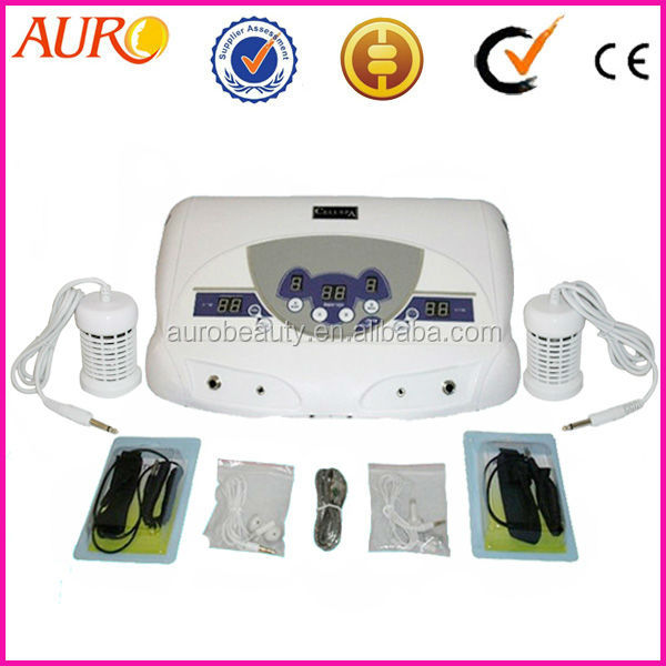 dual ion cleanse ionizer foot bath detox Device with 2 arrays AU-04