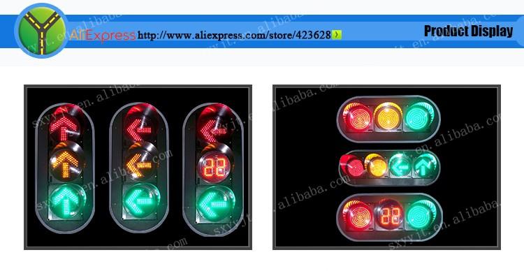 Korea Alibaba 300 Led Directional Arrow Traffic Signal Lamp Solar ...