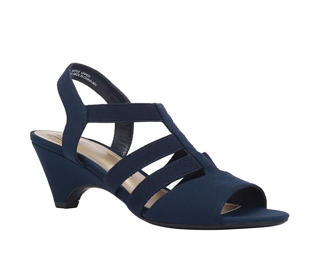 bcd1528358b8 Get Quotations · Impo Estella Stretch Sandal